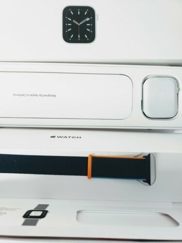 Nuevo Apple Watch Series 6 44 Mm Caja De Aluminio Platead...