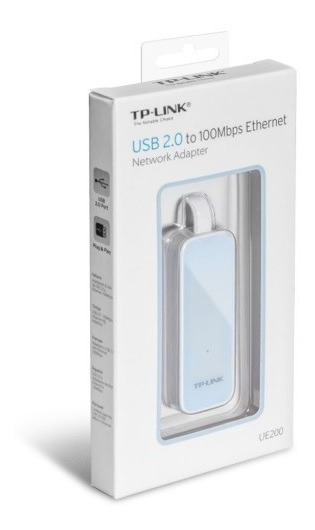 Adaptador Tp-link Ue200 Rj45 Ethernet Usb Macbook Air Apple