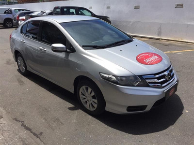 Honda City 1.5 Lx 16v Flex 4p Auto 2012/2013