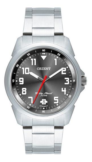 Relogio Orient Mbss1154a Masculino Prata