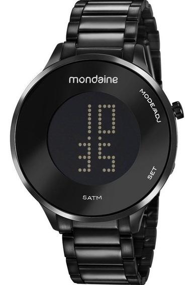 Relógio Digital Feminino Preto Mondaine 53786lpmvpe3
