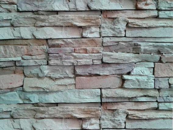 Revestimiento Simil Piedra Caja Ecostone Andes Crema Cuotas