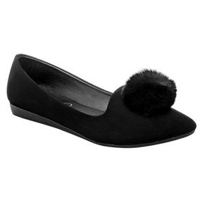Zapato De Piso Dama Betty 174798 Negro 22-26 U81135 T2
