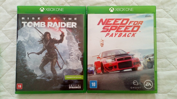 Need For Speed Payback + Rise Of The Tomb Raider Xbox One