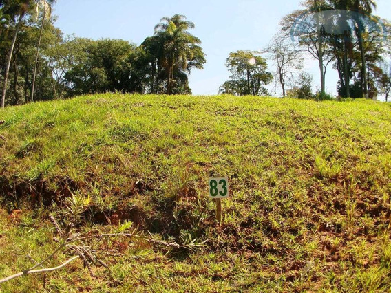 Terreno Residencial À Venda, Condomínio Residencial Villa Lombarda, Valinhos. - Te0258