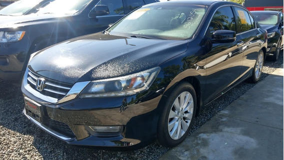 Honda Accord V6 Negro 2013