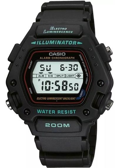 Relógio Casio Unissex Digital Dw-290-1vs Original Eua 100%
