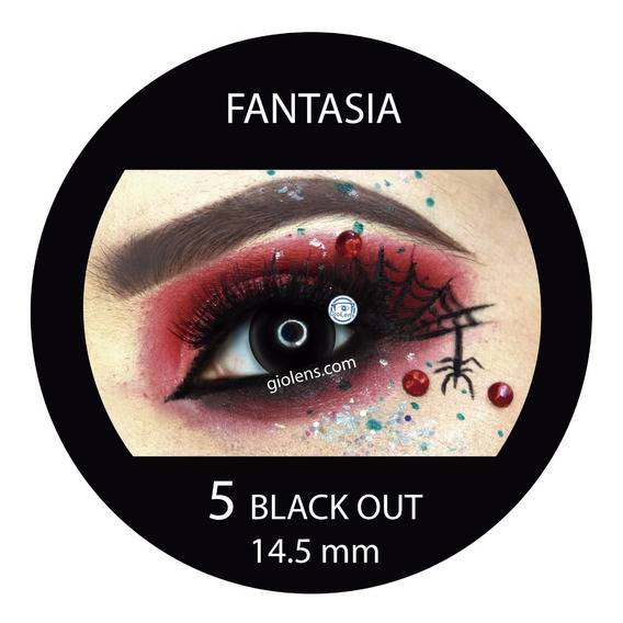 Pupilentes Halloween Fantasia Cosplay Disfraz Zombie Video