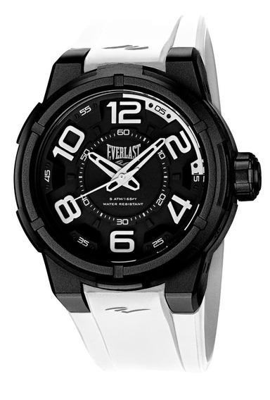 Relógio Pulso Everlast Torque E685 Caixa Abs Pulseira Branco