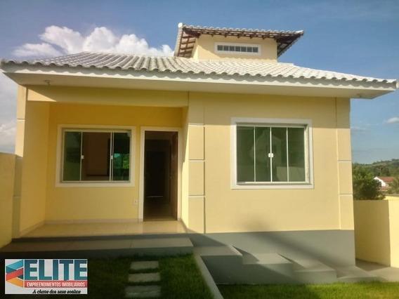 Casa Para Venda Em Saquarema, Bacaxá, 2 Dormitórios, 1 Suíte, 2 Banheiros, 1 Vaga - E277