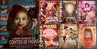 Revista Mundo Estranho (várias, Antigas E Novas)