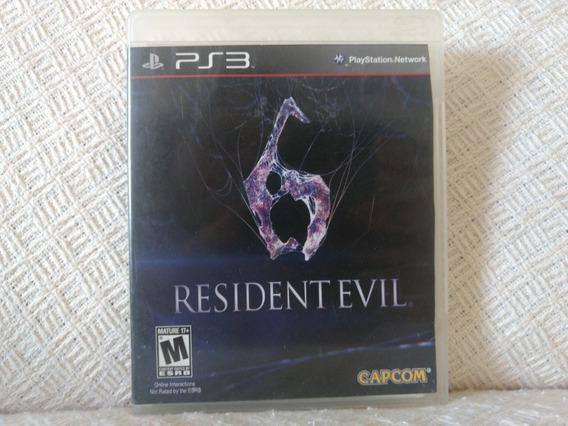 Jogo Ps3 Resident Evil 6 Mídia Física