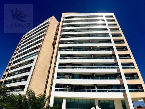 Imagem 1 de 27 de Apartamento Com 3 Dormitórios À Venda, 112 M² Por R$ 850.000 - Engenheiro Luciano Cavalcante - Fortaleza/ce - Ap0678