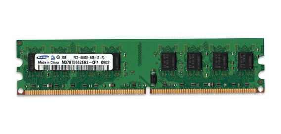Memoria Ram 2gb 1x2gb Samsung M378t5663eh3-cf7 Oem Palermo
