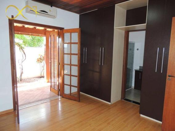 Casa Residencial Com 3 Dormitórios, 231 M² - Condomínio Terras Do Fontanário - Paulínia/sp - Ca1866
