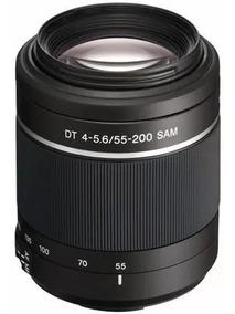 Lente Sony Dt Sal55-200mm F/4-5.6 Sam