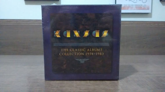 Kansas The Classic Albums Collection 1974-1983 - Box 10 Cds