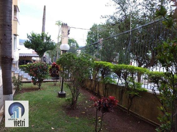 Apartamento Com 2 Dormitórios À Venda, 68 M² Por R$ 310.000 - Quitaúna - Osasco/sp - Ap4220