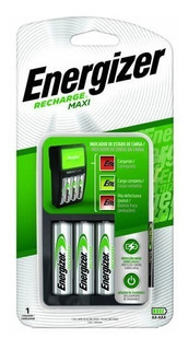 Cargador Energizer Maxi Para Pilas Aa Y Aaa (incluye Las Aa)