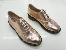 Zapato Bostoneano Bronce Tipo Dr