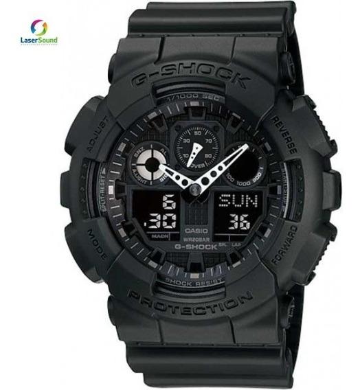 Relógio Casio G-shock Masculino Ga-100-1a1dr C/ Garantia Nf