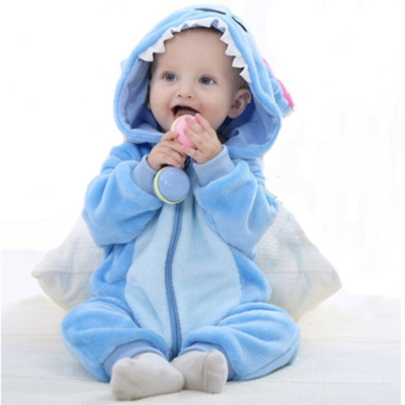 Pijama Stich Hermoso Mameluco Bebe Adorable