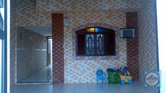 Casa Com 3 Dormitórios À Venda, 102 M² Por R$ 285.000,00 - Cidade Naútica - São Vicente/sp - Ca0746