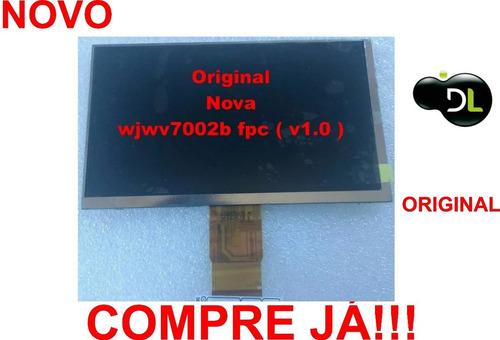 Display Lcd Original Dl Wjwv7002b Fpc V1.0 P Tablets Testado