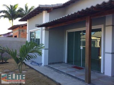 Casa Para Venda Em Saquarema, Aterrado (bacaxá), 2 Dormitórios, 1 Suíte, 2 Banheiros, 1 Vaga - E162_2-723978
