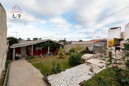 Terreno À Venda, 385 M² Por R$ 400.000,00 - Novo Mundo - Curitiba/pr - Te0129
