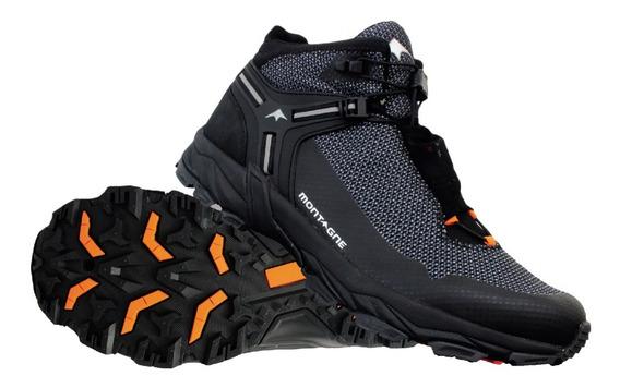 Bota Impermeable Montagne Hombre Speed Treck Trekking Cuotas