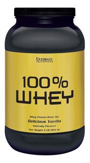100% Whey (908g) Ultimate Nutrition 2lb 3w - Todos Sabores