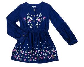 Vestido Nature Spirit/wild And Natural Azul Bubble Gummers