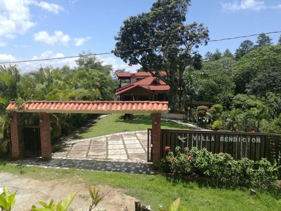 Villa De Venta En Jarabaco Amueblada Cerca Del Rio