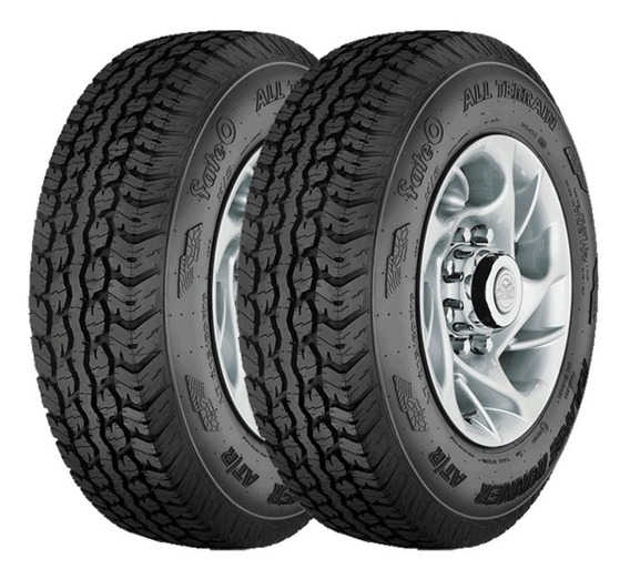 Kit X2 215/75 R15 Fate Range Runner At/r S2 - Rr Fs6