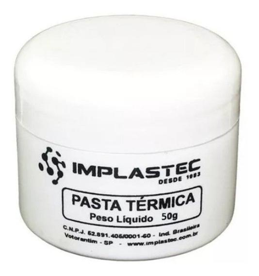 Pasta Térmica 50g Pote Implastec Imp0008