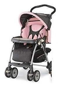 Carrinho De Bebê Chicco Cor De Rosa Pouco Usado.