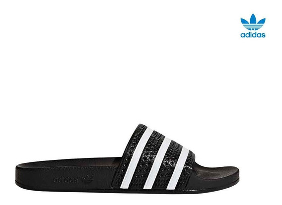 Sandalias adidas Adilette Negro - La Isla