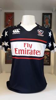 Camisa Seleção Estados Unidos Usa Rugby Canterbury