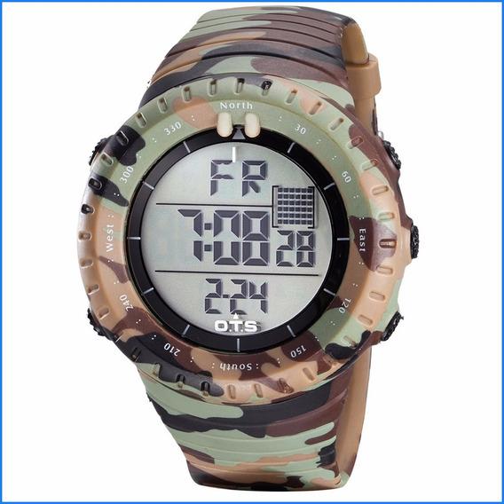 Reloj De Hombre Ots Camuflado Militar Táctico Ndprj