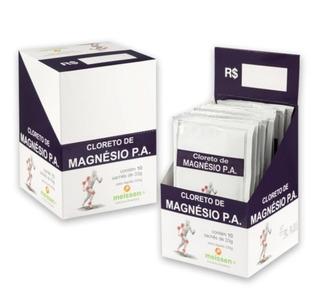 3cx Cloreto De Magnésio Pa Caixa C/10 Sachê De 33g - Meissen