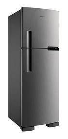 Geladeira / Refrigerador 375 Litros, Inox 110 Volts