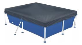 Capa Para Piscina Mor 1404 Standart 2000 Litros Azul