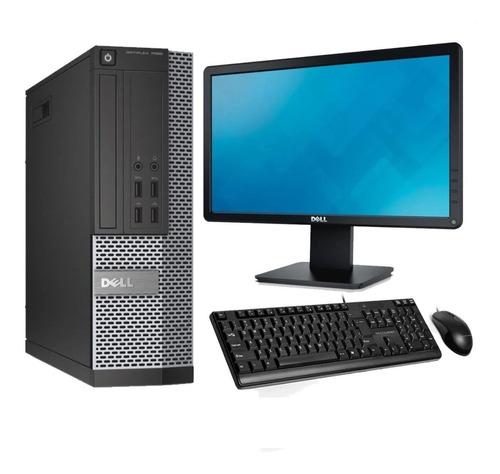 Computador Dell Core I5 4gb 500gb Monitor Pc Cpu  - Promoção