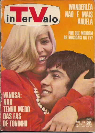 Revista-tv Intervalo 376-rita Lee,frascisco Cuoco,vanusa