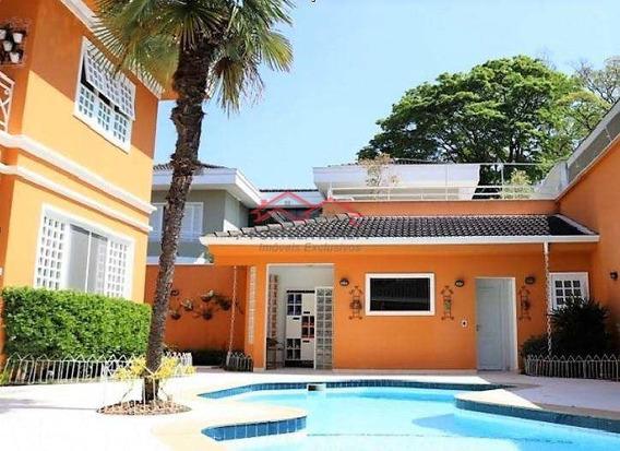 Casa De Condomínio Com 4 Dorms, Chácara Monte Alegre, São Paulo - R$ 3.4 Mi, Cod: 62 - V62