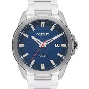 Relógio Orient Masculino Prateado Mbss1277 D1sx C/ Nf