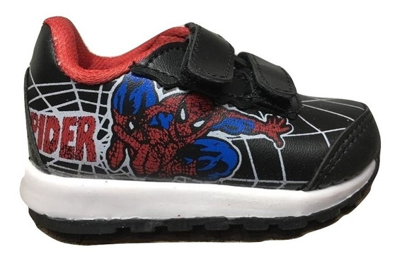 Zapatillas De Nena Nene Unisex De Abrojo Con Superheroes