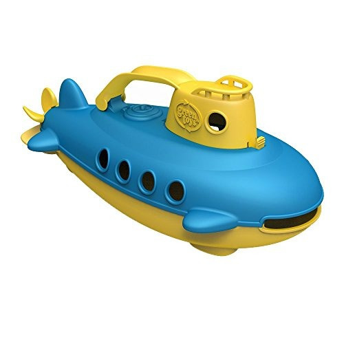 Green Toys Submarino, Amarillo