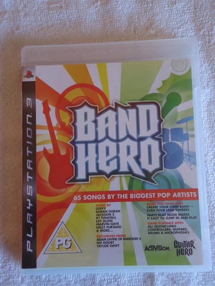 Band Hero Ps3 ** Frete Grátis Leia